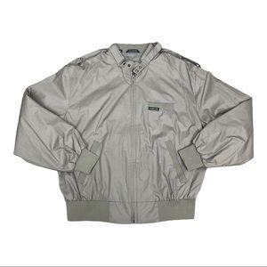 Vintage Members Only Bomber Jacket Size Medium